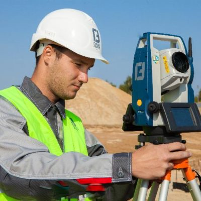 Garant Expert Mosca: conducting construction control using the SOKKIA FX total station