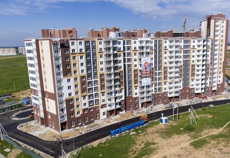 Техническое обследование зданий Микрорайон «Хороший» ЗАО СК «Правый берег»