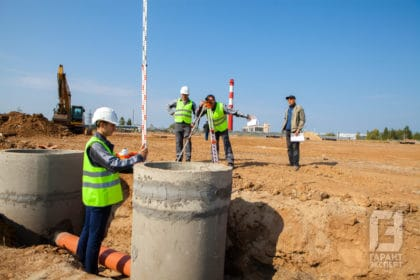 Surveying at the construction site - Garant Expert