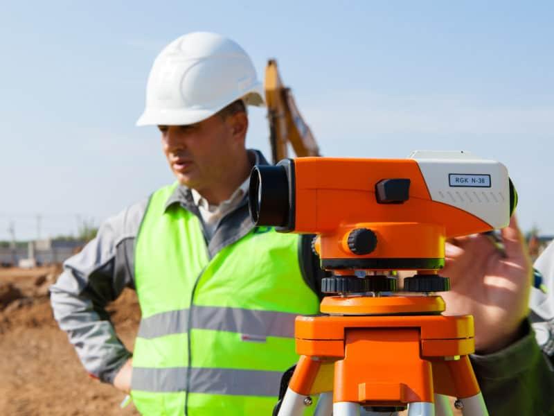 Проведение геодезических работ на объекте строительства - Гарант Эксперт