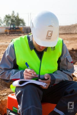 Surveying on the road - Garant Expert