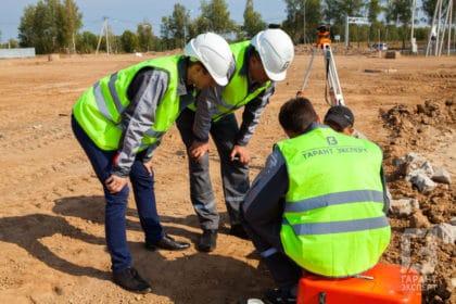 Проведение геодезических работ