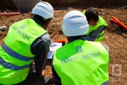 Engineers Garant Expert on site construction survey