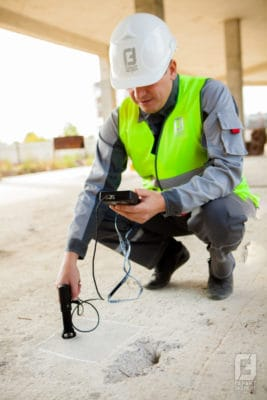 Ultrasound examination of concrete at the site - Garant Expert