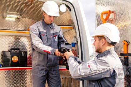 Mobile laboratory of non-destructive testing Garant Expert on site