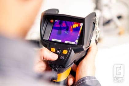 Conducting a thermal visual inspection of the object - Garant Expert