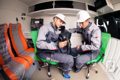 Специалисты 'Гарант Эксперт' изучают данные энергетического обследования здания